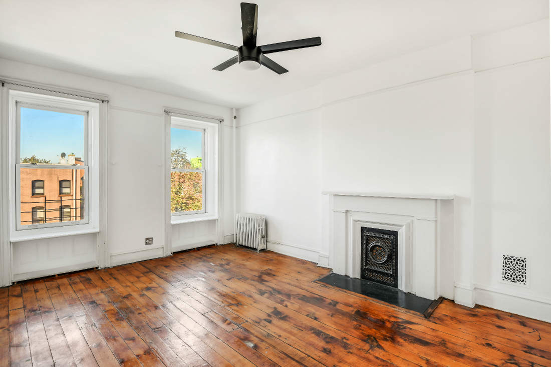 Brooklyn Nyc Living Room Wood Floors